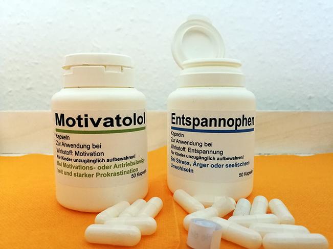 Medizin in kleinen Dosen - Geschenk