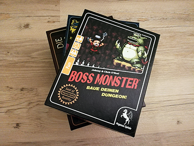 Kartenspiel Boss Monster
