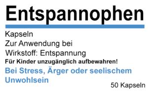 Etikett Entspannophen