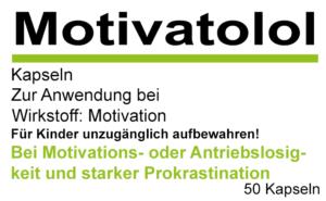 Etikett Motivatolol