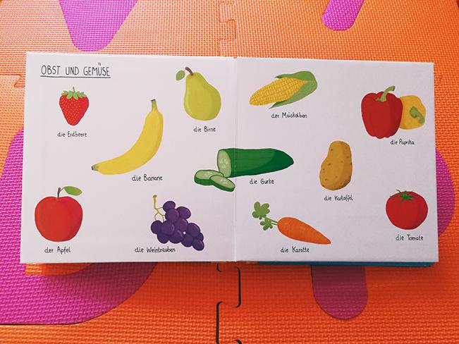 Obst und Gemüse Illustrationen