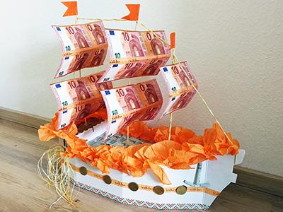 Traumschiff-Geldgeschenk