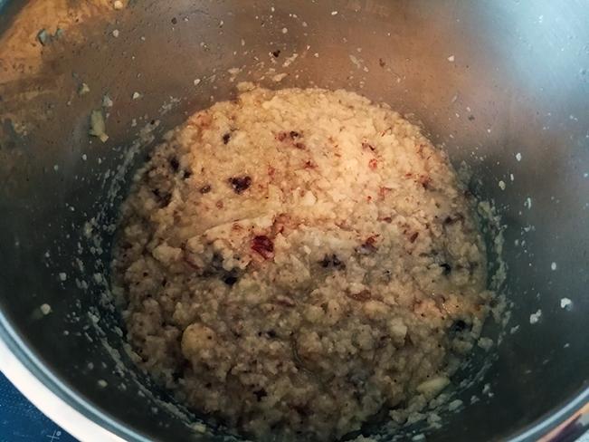 Bratapfelmarmeladenvorbereitungen
