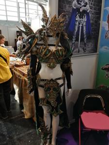 Ein Worbla Kriegerinnen Outfit