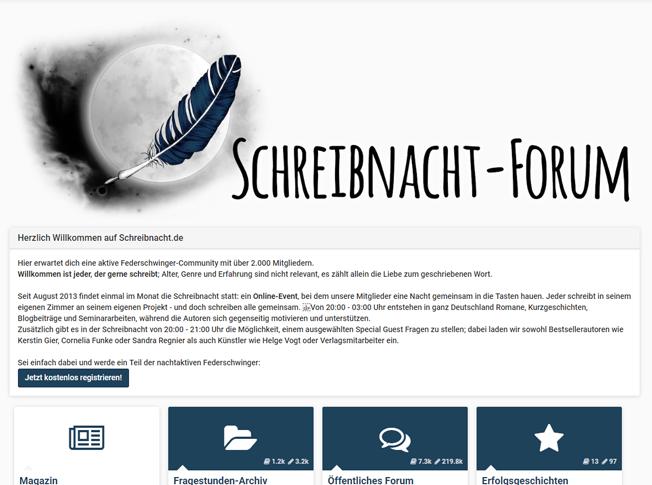 Schreibnacht-Forum