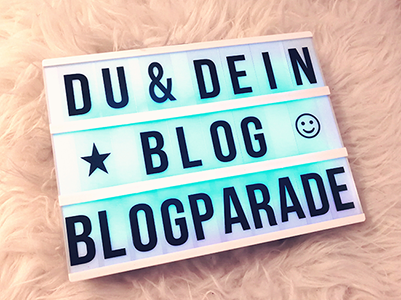 Du und dein Blog Blogparade