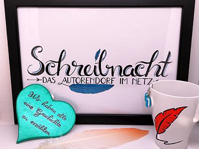 Schreibnacht - Das Autorendorf im Netz
