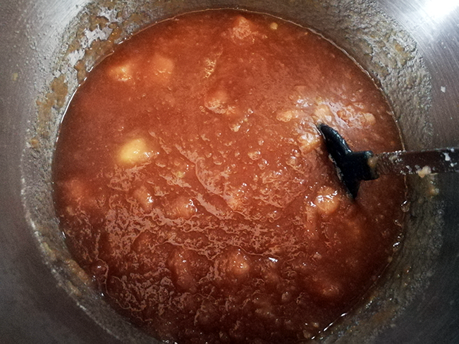 Apfadinen-Marmelade