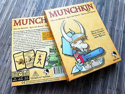 Munchkin das Kartenspiel