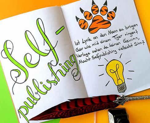 Lettering zum Thema Selfpublishing