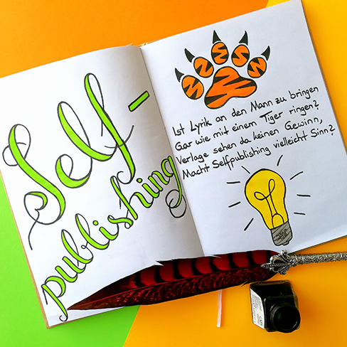 Lettering zum Thema Selfpublishing