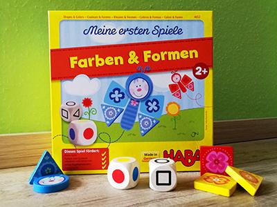 Farben & Formen – Spielen für die Kleinen