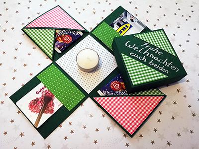 Weihnachtsbox – Geschenk oder Verpackung